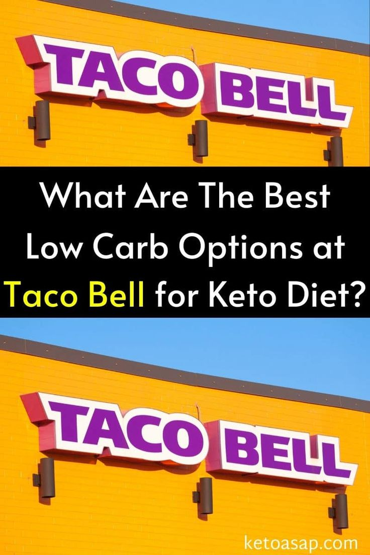Healthy Meals at Taco Bell That Are High-Protein | Eat This Not That