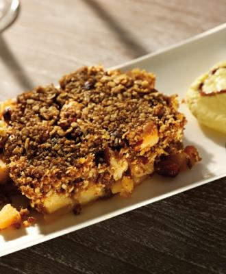 Appel crumble, heerlijk met hollandse appeltjes