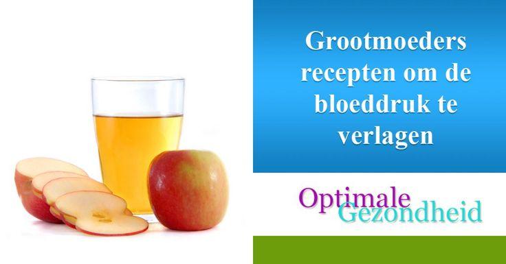 Grootmoeders recepten om de bloeddruk te verlagen :http://www.optimalegezondheid.com/grootmoeders-recepten-om-bloeddruk-verlagen/