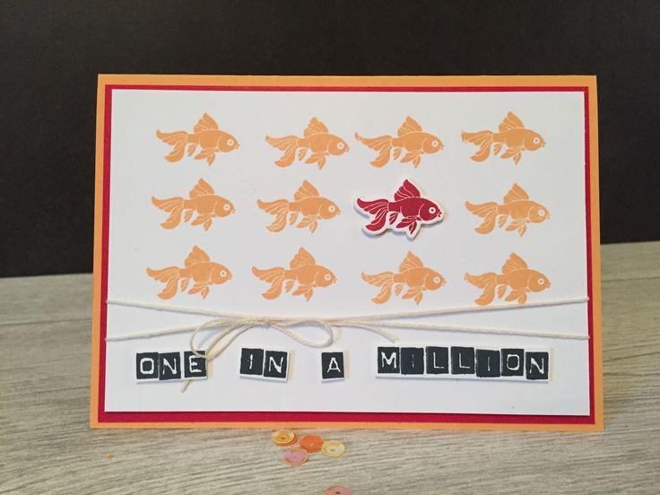 Geburtstagskarte mit #GlasklareGrüße und #LabelerAlphabet von #Stampin'Up!