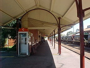 Wodonga railway station
