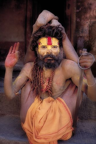 In Hinduism, a sādhu (good man, holy man) is a religious ascetic or holy person. Although the vast majority of sādhus are yogīs, not all yogīs are sādhus.
