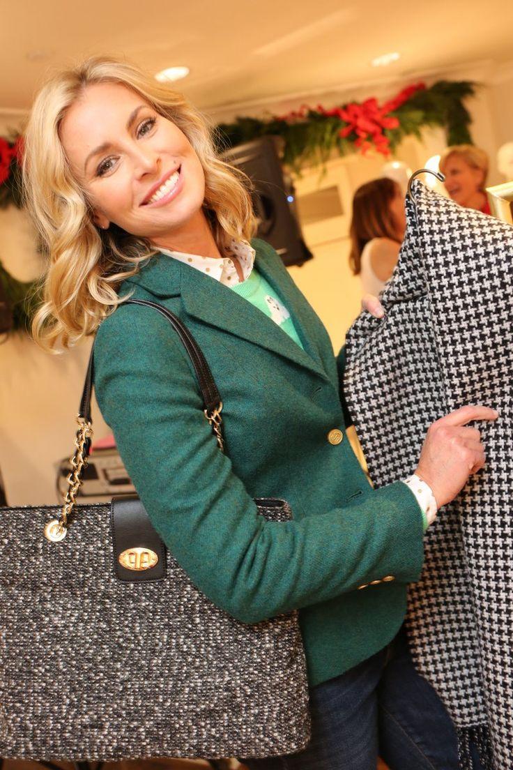 Niki Taylor in Talbots store in NY 07/12/2016