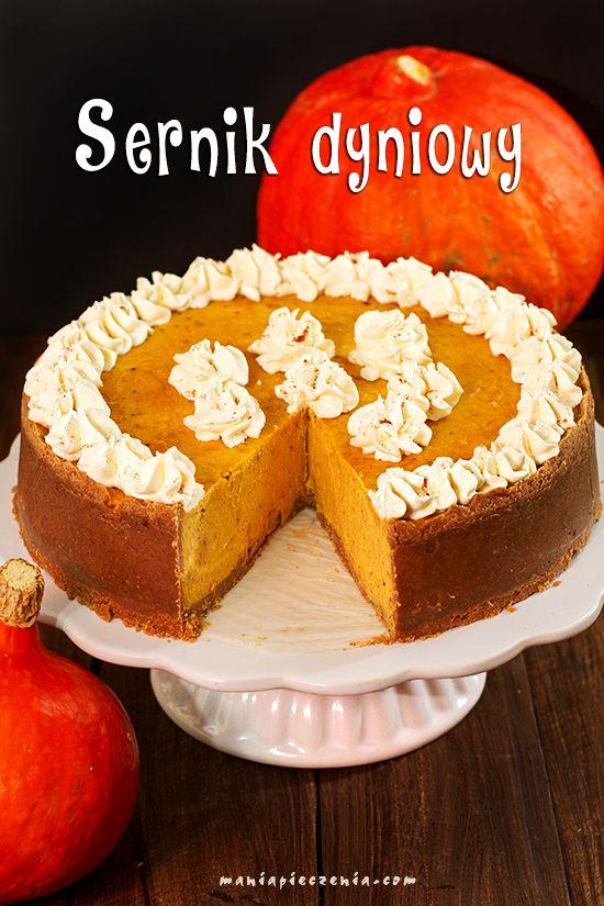 sernik dyniowy, dyniownik, sernik na halloween, sernik z dynią, pumpkin cheesecake, halloween