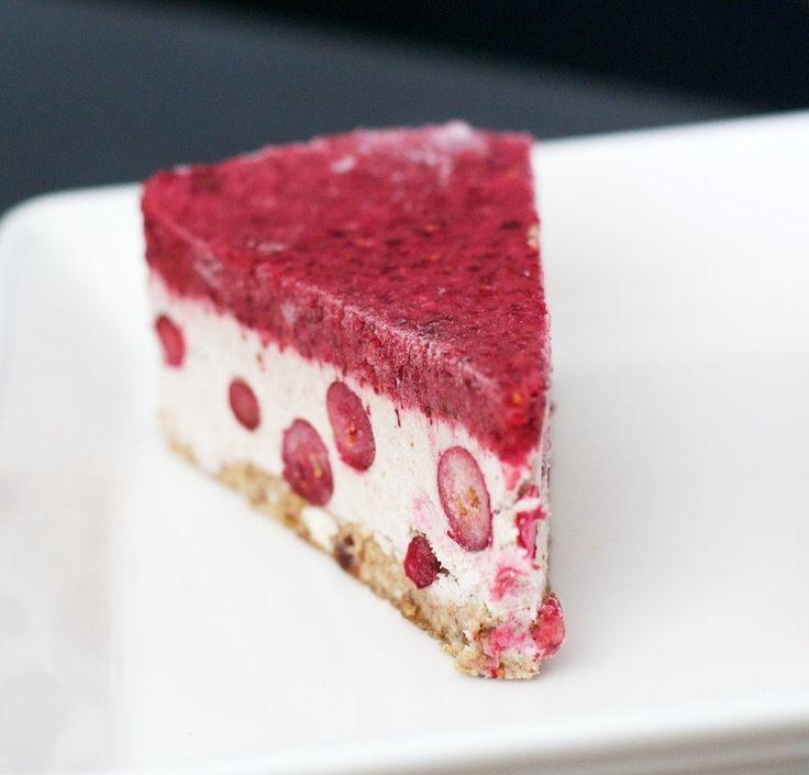 Raakajuustokakku, raakajogurtti, kookosjogurtti, itsetehty jogurtti, - HaLo | Lily.fi