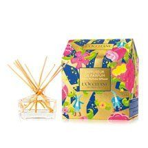 L'Occitane Home Perfume Diffuser - - by L'Occitane. $16.00. This festive box is composed of a decorative glass decanter and 15 diffuser reeds. It has to be completed with a perfume refill sold separately, selected by you. This beautiful gift will add a decorative and perfumed touch to any home. - Size: 3.4 fl.oz