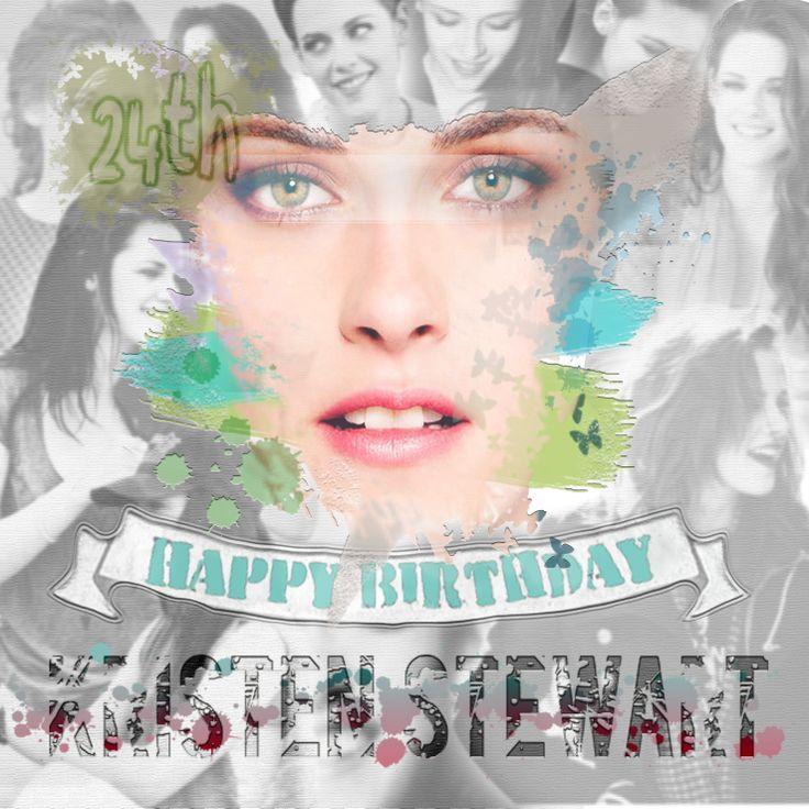 Happy 24th Birthday Kristen Jaymes Stewart !
