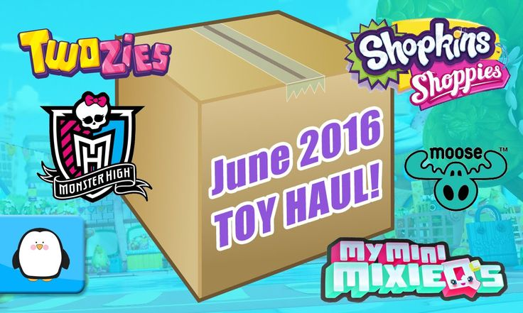 GIANT SURPRISE TOY BOX OPENING Twozies Shopkins Dolls Monster High My Mini Mixie Q's New 2016 Haul by Sparkle Spice. Subscribe here to never miss a video: https://www.youtube.com/channel/UCsRW8ikkc-uISUXtNKBfFcw?sub_confirmation=1 This is my giant toy surprise box for my June 2016 new toy haul! Inside I have tons of new Twozies by Moose including a case of 2 packs over 12 different 12 packs and 2 packs. I also have the new Shopkins Shoppies Dolls named Sara Sushi and Rainbow Kate! I also got…