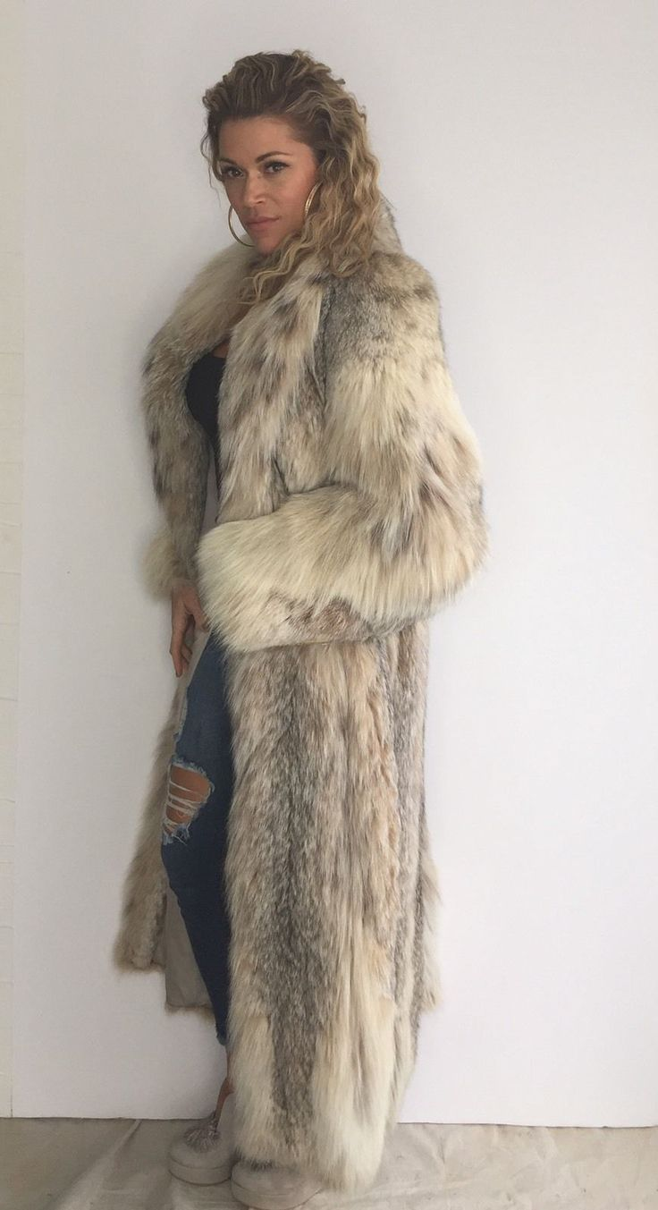 Brand New Montana Lynx Fur Coat****with Tag Size 12 | Clothing, Shoes & Accessories, Women's Clothing, Coats & Jackets | eBay!