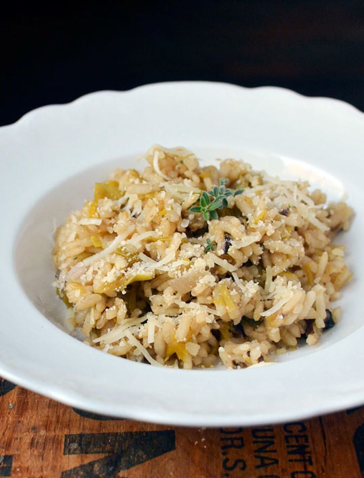 Recipe: Mushroom and Leek Risotto — Recipes from The Kitchn