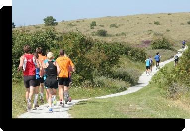 Vlieland (NL) half marathon