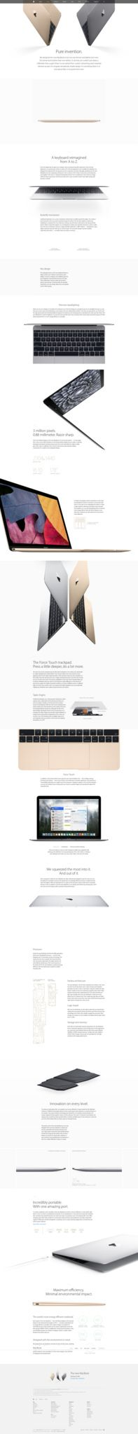 https://flic.kr/p/rvoaL1 | Apple - MacBook - Design