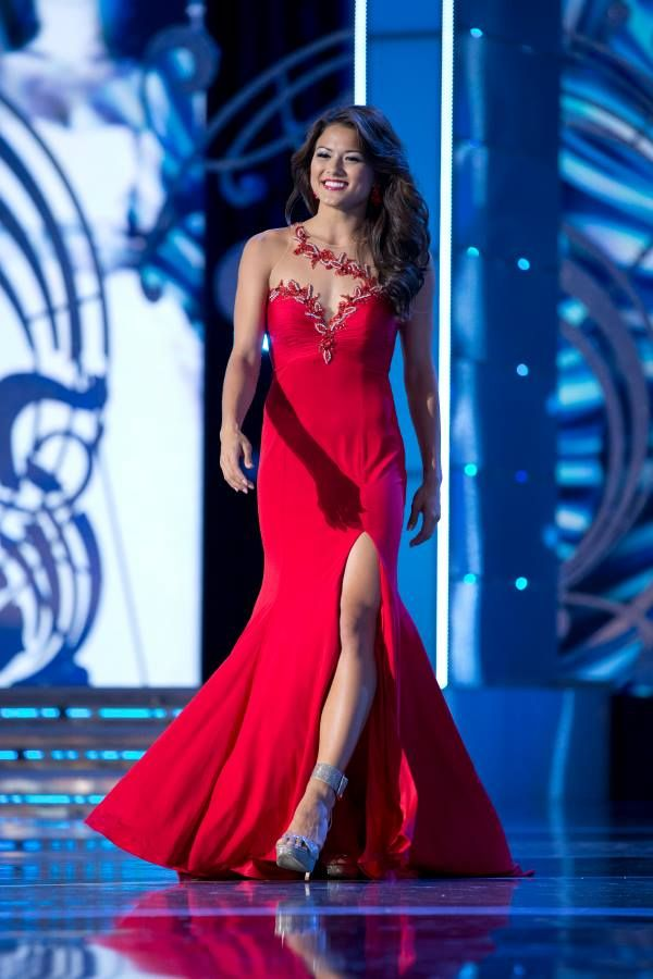 Miss america evening dresses