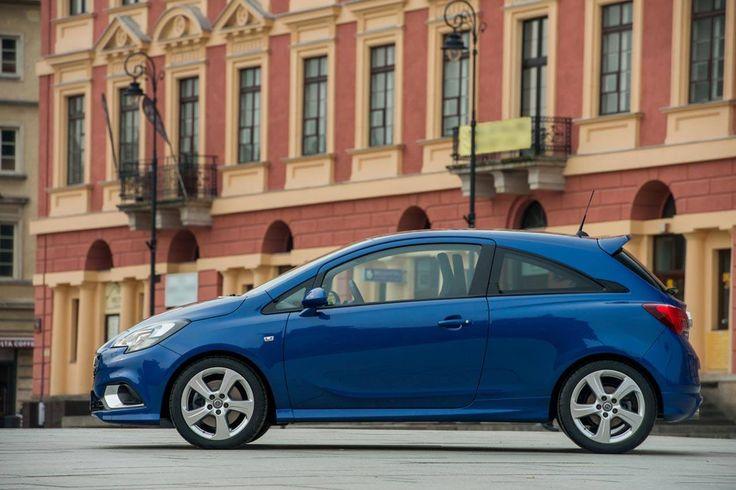 Nowy Opel Corsa OPC - Warszawa Polska, Warsaw Poland