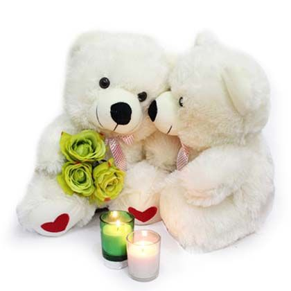 Valentines Couple Teddy Bear