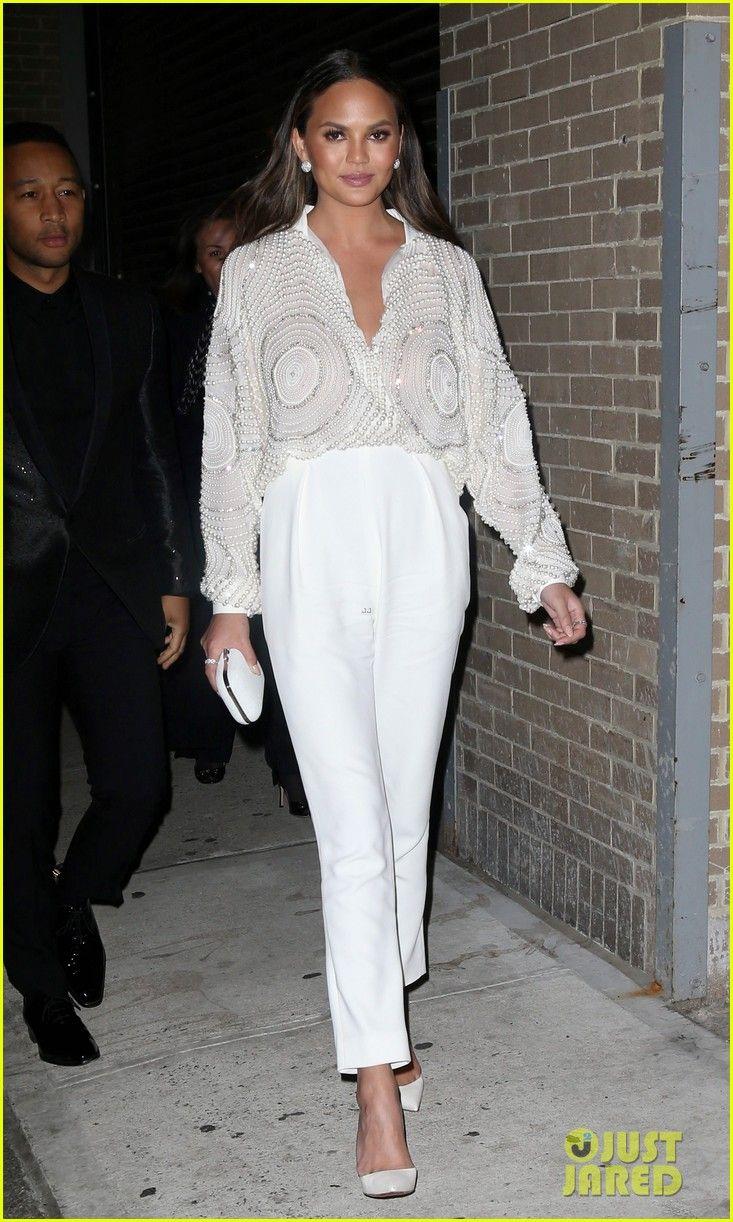 Chrissy Teigen & John Legend Wear Coordinating Outfits to Target Presents 'The Toycracker'