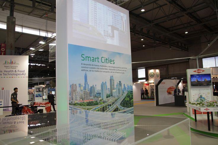 Vista de una de las zonas expositivas, Smart Cities