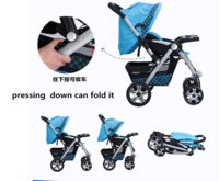 Xiao a long famous brand Super lightweight colorful baby stroller folding easily 961 blue made in china