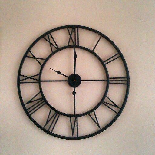 Lekkere grote klok @ de woonkamer