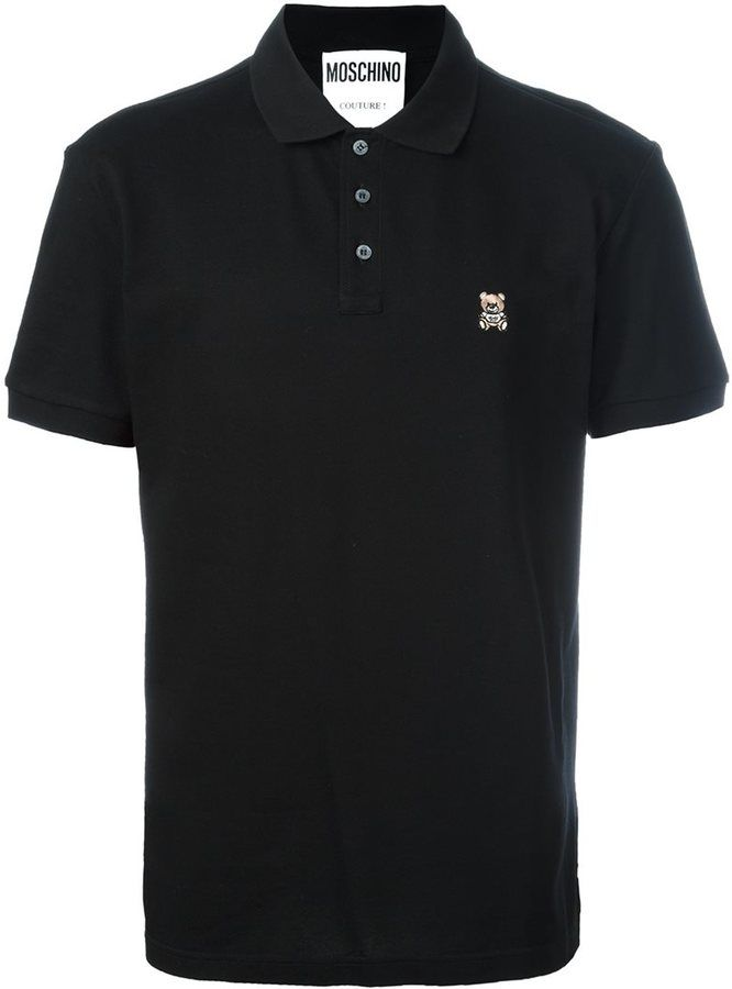 Moschino toy bear polo shirt