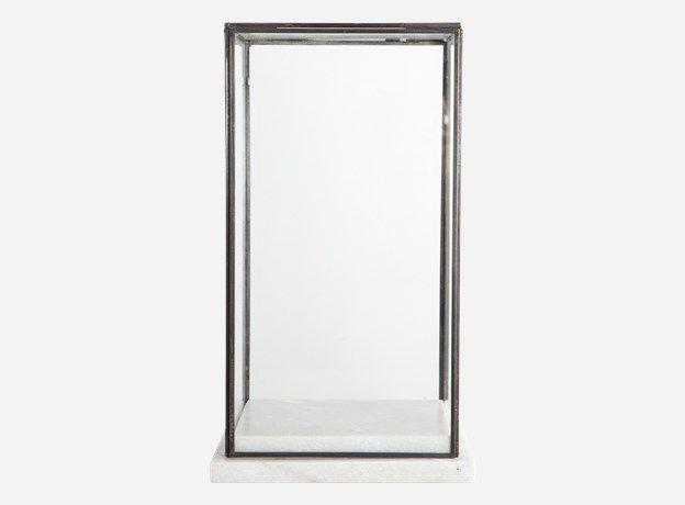 Sp0500 - Showcase, Marbel, 19x19 cm, h.: 33 cm