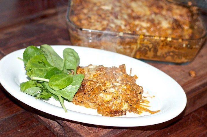 Lasagnette med kål