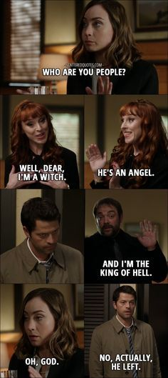 Enjoy the best quotes / moments from Supernatural's episode 'LOTUS'. 'LOTUS' is the 8th episode of season twelve. (s12e08)
