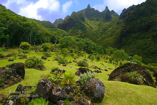 Limahuli Gardens On The North Shore Of Kauai Seems Almost