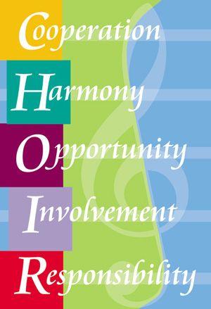 Choir Motivational Poster