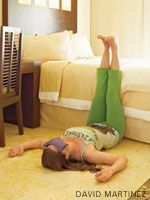 yoga poses to help with cold & flu symptoms - Keep this in mind with the cold & flu season coming up!