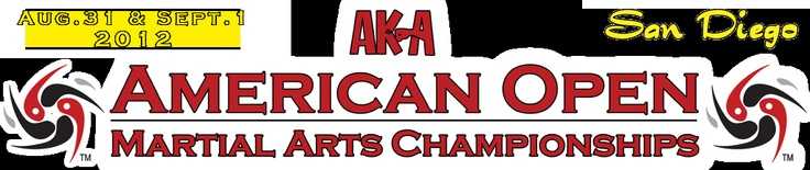 Don't count this little gem out for sport karate tournaments. It is well-organized and in a great location - so get there and enjoy it! The AKA American Open - Aug 31-Sept 1 in San Diego, CA