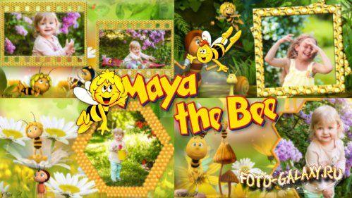 Детский проект для ProShow Producer - Пчёлка Майя