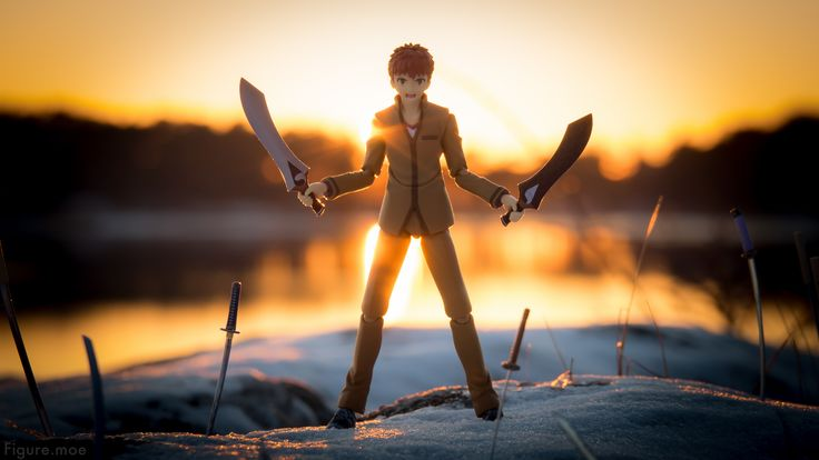 Welcome to Shirou's Reality Marble! Enjoy the view and the fight to come! Se more photos at https://figure.moe/metal-fire-fate/