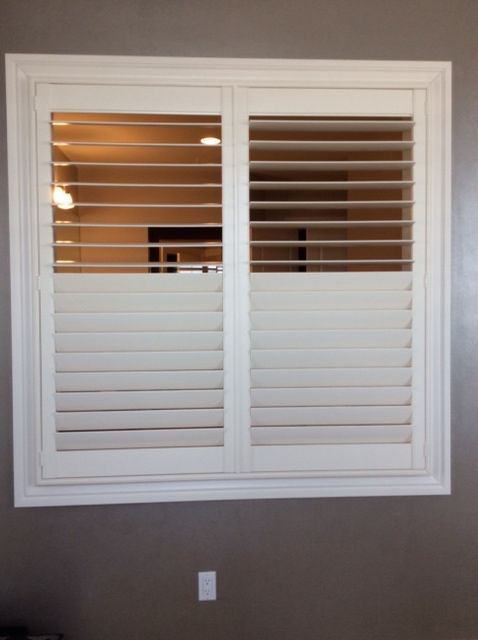How to make plantation shutters stay open woodworking for Plantation shutter plans