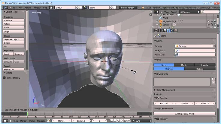 faceshift blender tutorial