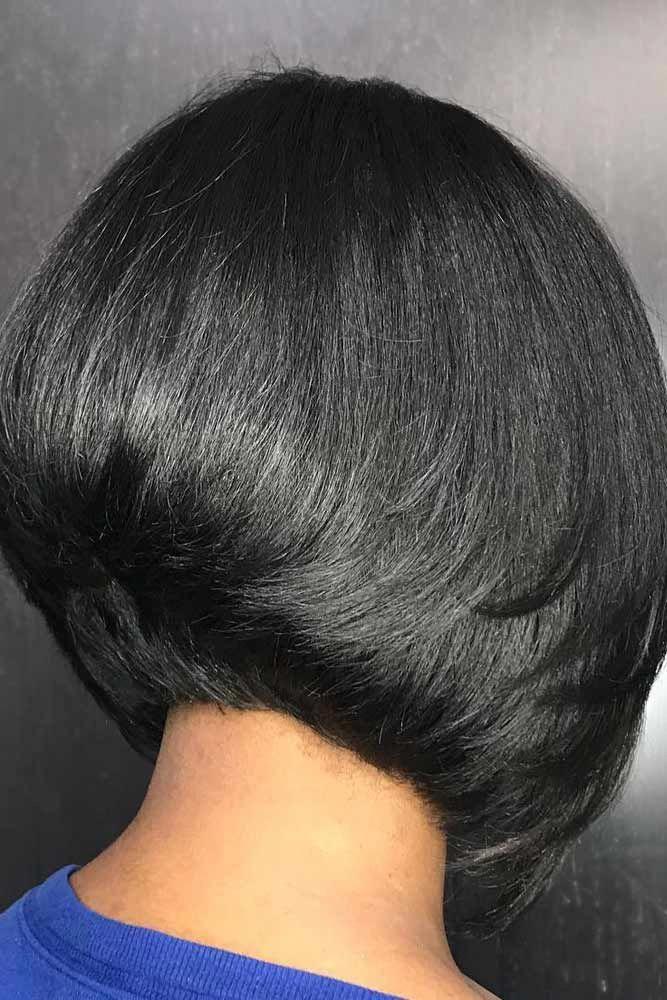 28 Chic Bob Frisuren für schwarze Frauen mit gutem Geschmack