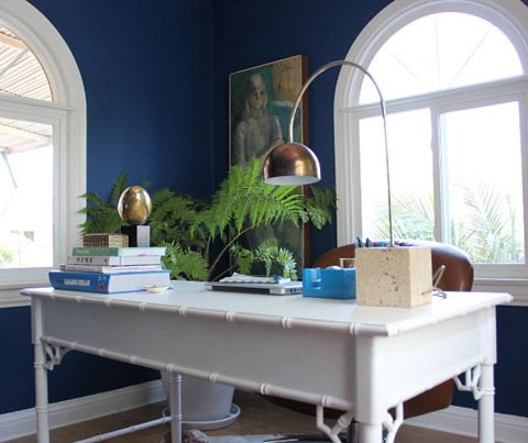 Sherwin Williams - Loyal BlueLoyal Blue, Arches Lamps, Arc Lamps, Blue Wall, Painting Colors, Sherwin Williams, Emily Henderson, Blue Painting, Williams Loyal