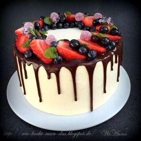 Hier wird mit Liebe gekocht: Wie man Creme-Torte zusammenbaut