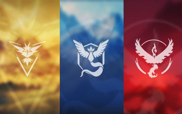 Pokémon Go Team Mystic, Valor, and Instinct Wallpapers