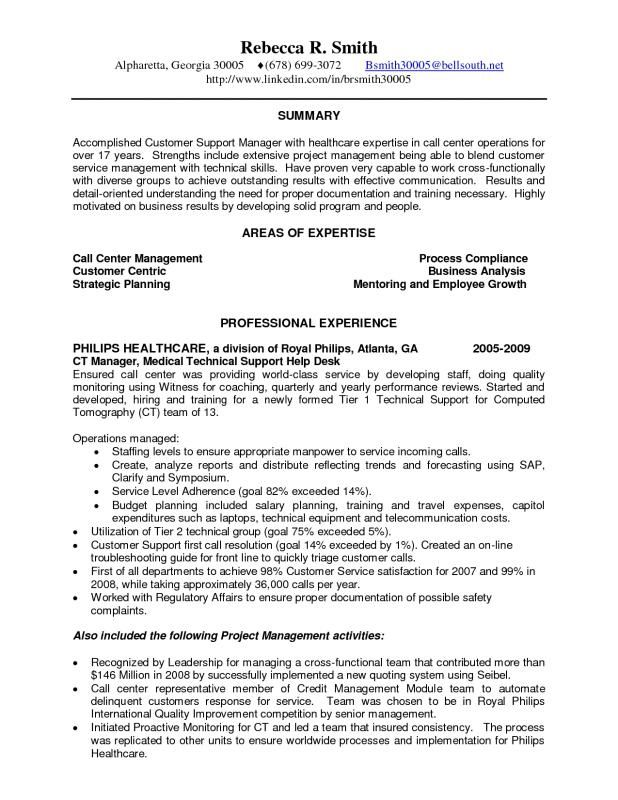 Call Center Resume Sample Check More At Https Nationalgriefawarenessday Com 23692 Call Center Resume Sample