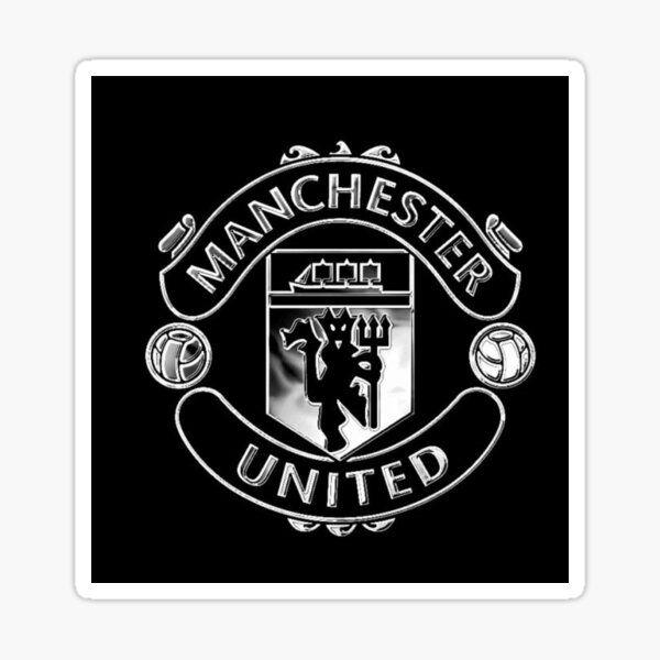 Man U Sticker By Officialapple In 2021 Manchester United Logo Man Utd Crest Manchester United