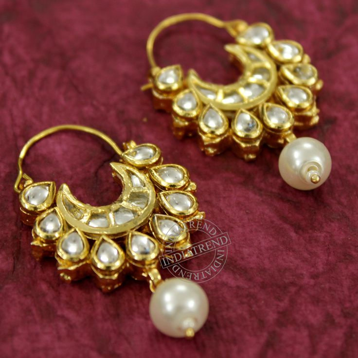 Abeer Earrings by Indiatrend Shop Now at WWW.INDIATRENDSHOP.COM