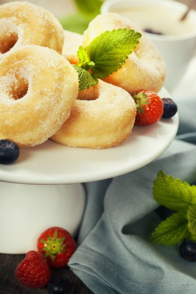 Coffee and fresh donuts by Natalia Klenova on 500px.    TG