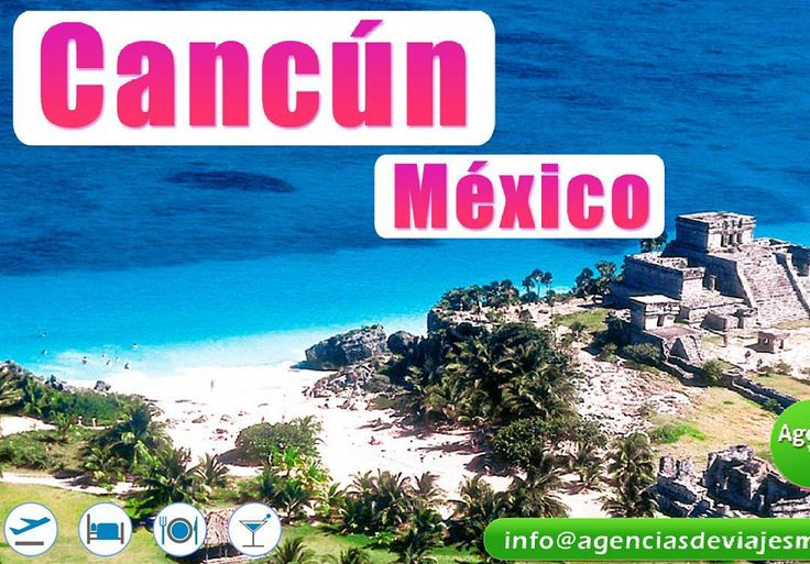 #cancun te espera con los brazos abiertos!  Vive  ríe  disfruta! Conoce todos sus lugares turísticos Viaja desde #cali #tulua #buga  #palmira #bogota #medellin #barranquilla #bucaramanga #pasto #pereira #manizales  pregunta por nuestros descuentos  http://bit.ly/2fE4WtZ