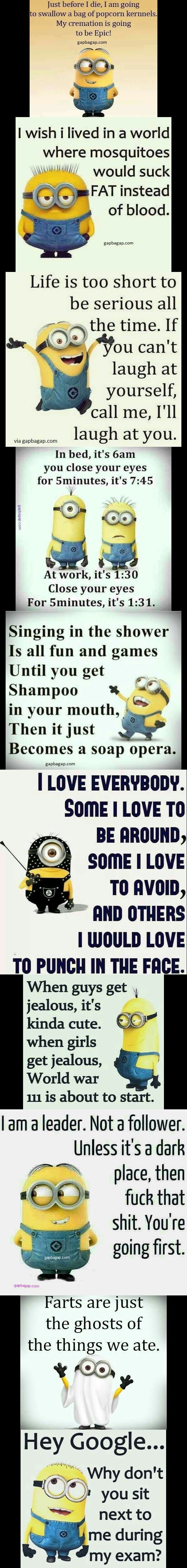 Top 10 Funniest Minion Quotes
