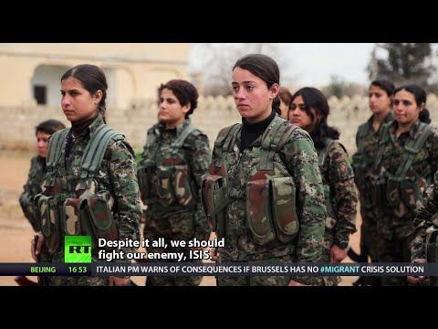 In the face of the deadly threat posed by the so-called Islamic State, many Kurdish women decide not to leave their survival to fate. Instead, they fight for...