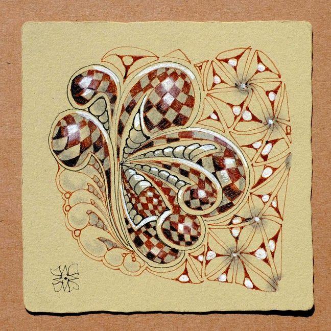 Zentangle by maria thomas cofounder on