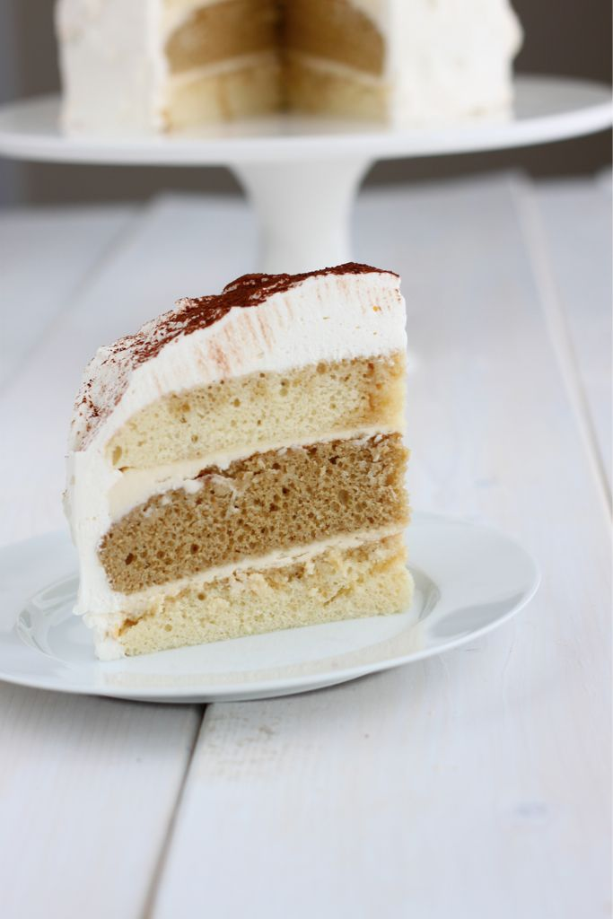 Tiramisu Layer Cake (hands down, one of my fav cake recipes! easy and DELICIOUS!)