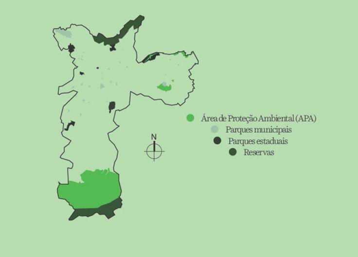 18% é o que resta de Mata Atlântica no estado de São Paulo, com as maiores frações nas serras da Cantareira e do Mar  - Ilhas de calor. A temperatura aqui varia até 14 °C nas diferentes regiões, o maior índice já registrado no mundo  - São Paulo já teve 4 mil km de rios e córregos. Hoje, menos de 400 km permanecem a céu aberto