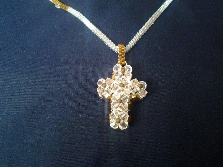 White shining cross